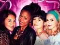 The girls meet a rival coven and Hannah Tointon slaps her boss in clips from ITV2 series.