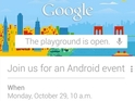 Cryptic invite may be related to launch of LG Nexus smartphone.