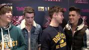 Union J answer your questions