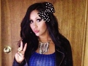 Snooki- pleather- blue