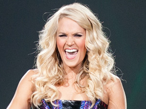Carrie Underwood performing at Jobing.com Arena during her 'Blown Away Tour' Arizona, USA
