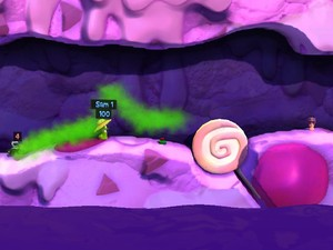 'Worms Revolution' Funfair pack screenshot