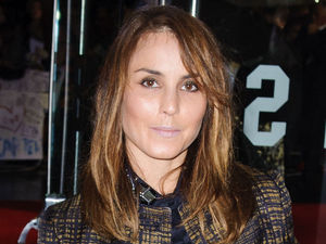 Noomi Rapace arrives for a screening of 'Great Expectations' at the 56th BFI London Film Festival closing night gala film at Oden Leicester Square