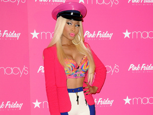Nicki Minaj launches her new fragrance 'Pink Friday' at Macy's Herald Square New York City, USA - 24.09.12 Credit: (Mandatory): Ivan Nikolov/WENN.com