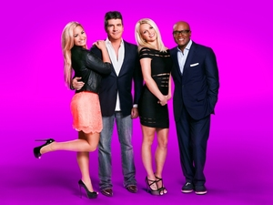 &#39;X Factor&#39; judges (new iconic shot)