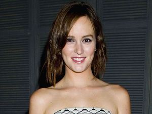 Leighton Meester celebrates her Flaunt Magazine cover at Ink Restaurant, Los Angeles, America - 25 Oct 201