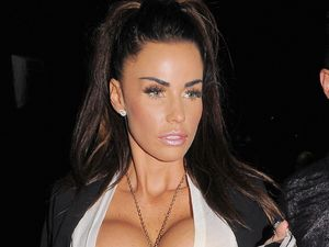 Katie Price, aka Jordan, parties at the Rose club, London, Britain - 27 Oct 2012