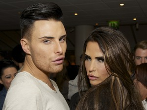 Rylan Clark and Katie Price at The X Factor results show