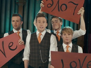 McFly 'Love Is Easy' music video.