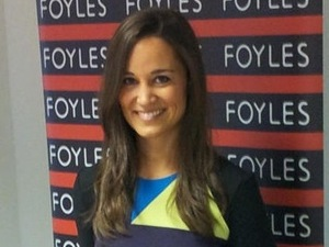 PIppa Middleton launches her book at Foyles in London 25.10.12