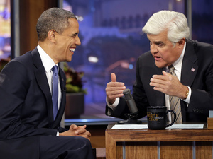 Barack Obama on Jay Leno, October 24, 2012
