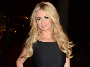 Chantelle Houghton arrives at the RTE Studios for 'The Saturday Night Show'.
