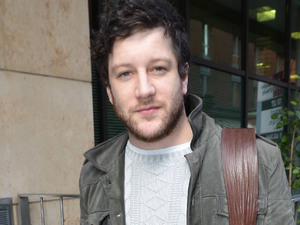 Matt Cardle outside the Today FM studios in Dublin.