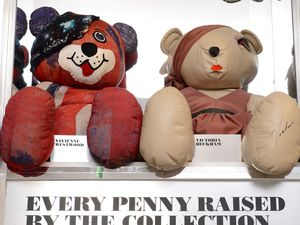 Designers launch The 2012 Designer Pudsey Collection in Selfridge: Bears designed by dame Vivienne Westwood and Victoria Beckham