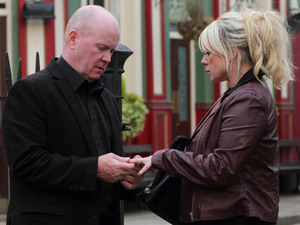 Phil shocks Sharon as he insists she wear a fake engagement ring.