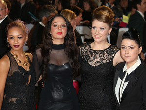 Jade Ellis, Tulisa Contostavlos, Ella Henderson and Lucy Spraggan James Bond Skyfall World Premiere held at the Royal Albert Hall- Arrivals London, England - 23.10.12 Mandatory Credit: Lia Toby/WENN.com