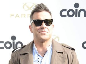 Robbie Williams Farrell: Robbie William's new clothing range - Photocall - held at Coin Cinque Giornate Milan, Italy - 18.10.12***Not Available for Publication in Italy, Available for the Rest of the World*** Mandatory Credit: star.press/WENN.com