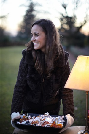 Pippa Middleton shot for her 'Celebrate' book