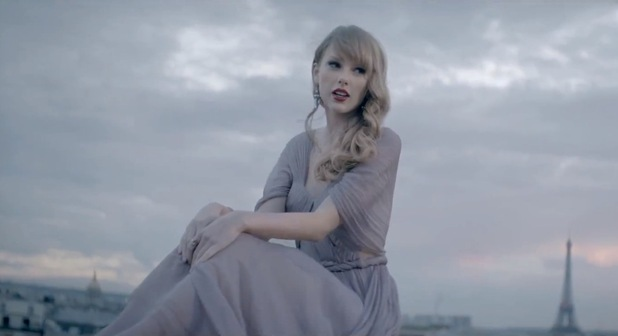 Taylor Swift in &#39;Begin Again&#39; music video.