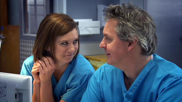 Natasha Leigh in Holby City