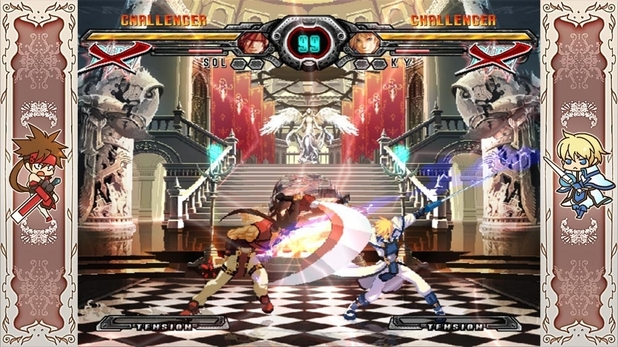 &#39;Guilty Gear XX Accent Core Plus&#39; screenshot