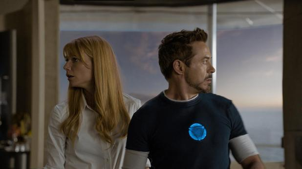 Iron Man 3 Gwyneth Paltrow Robert Downey Jr