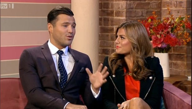 Mark Wright and Zoe Hardman on ITV This Morning