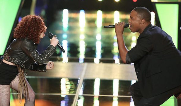 The Voice (USA) - final battle rounds: Avery Wilson and Chevonne