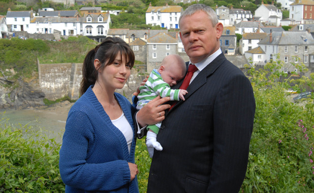 Doc Martin': Caroline Catz as Louisa Glasson and Martin Clunes as Dr