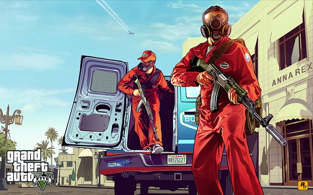 Grand Theft Auto 5 artwork