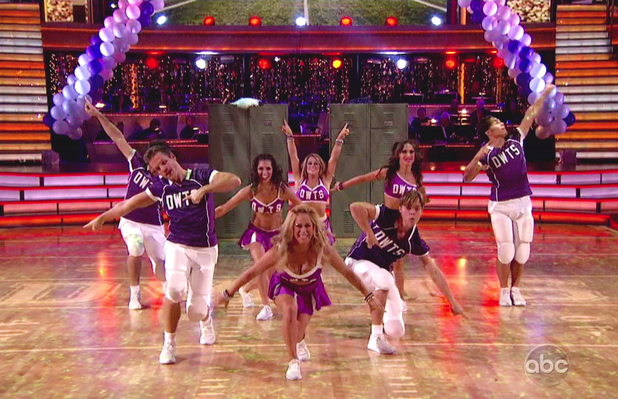 Group routine to 'Call Me Maybe' - ABC's 'Dancing with the Stars: All-Stars' Season 15, Episode 9