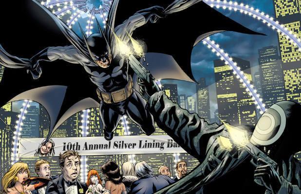 'Batman: Bellicosity' artwork