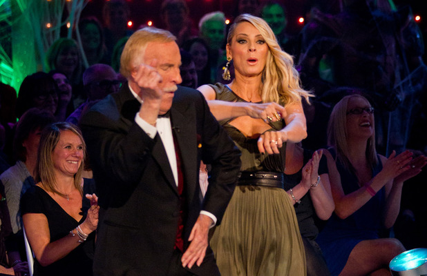 Strictly Come Dancing: Bruce and Tess.