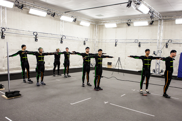 Ubisoft Toronto's state-of-the-art performance capture studio