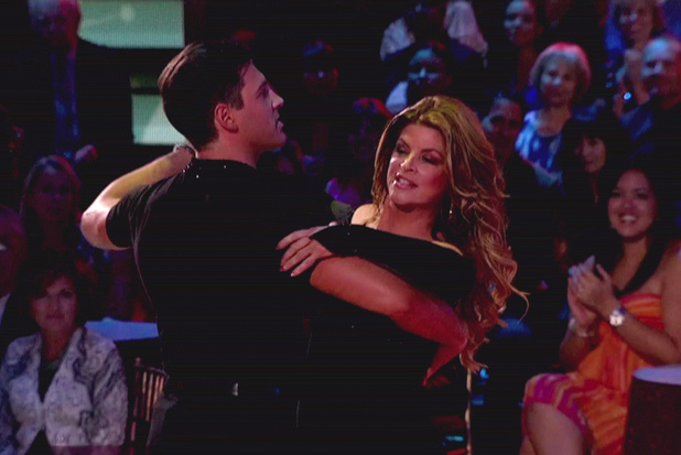 Kirstie Alley and Maksim Chmerkovskiy - ABC&#39;s &#39;Dancing with the Stars: All-Stars&#39; Season 15, Episode 9