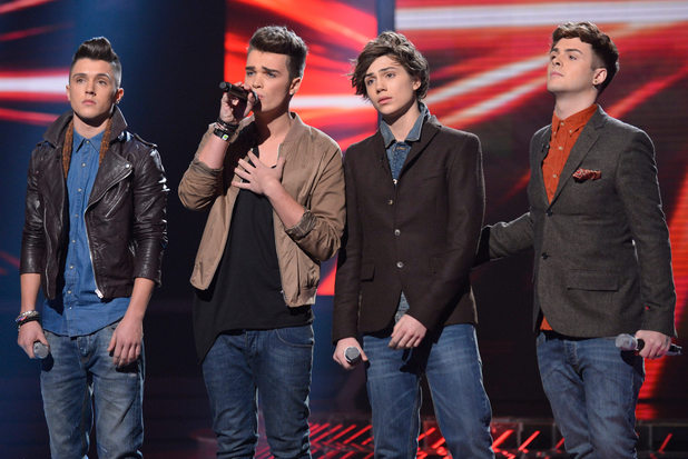The X Factor Results Show: Union J