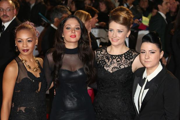 Lucy Spraggan, Tulisa, Ella Henderson and Jade Ellis