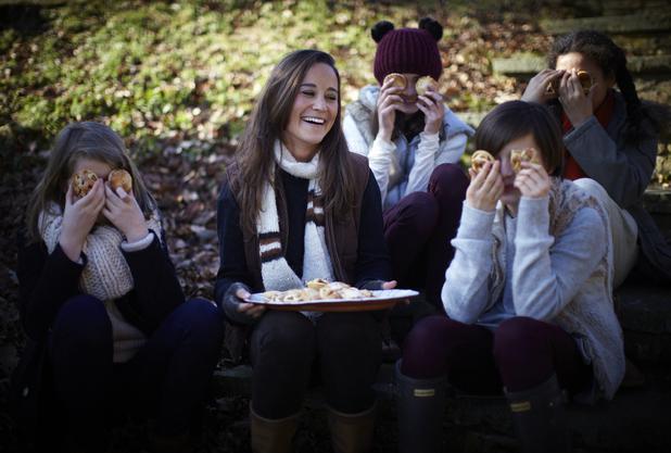 Pippa Middleton shot for her 'Celebrate' book