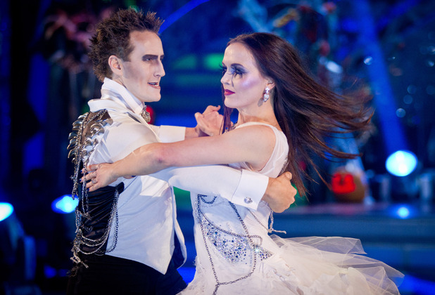 Strictly Come Dancing: Victoria and Brendan.