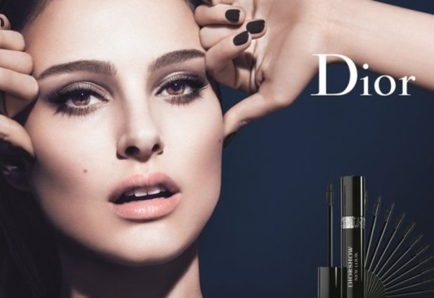 Natalie Portman mascara ad for Christian Dior