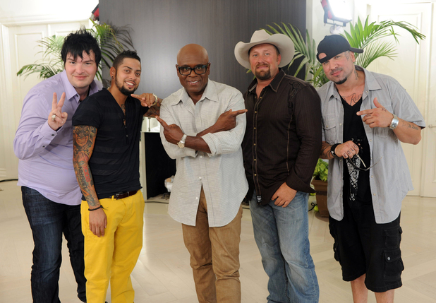 Tate at Judges' Houses with LA Reid and the Over 25s