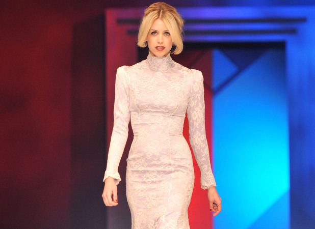 Peaches Geldof Lingerie London held at Old Billingsgate - Catwalk. London, England