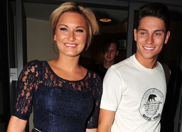Sam Faiers and Joey Essex go out to dinner at The Living Room restaurant and bar in Liverpool Liverpool, England - 15.09.12 Credit: (Mandatory): WENN.com
