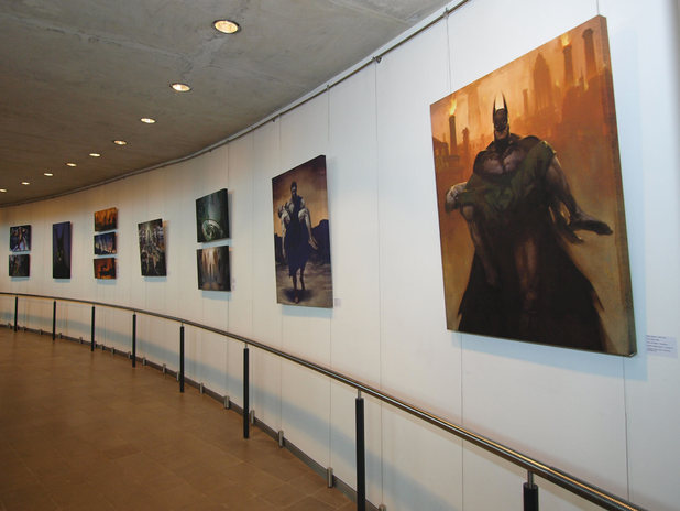 London's City Hall videogames art exhibition