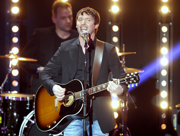 James Blunt performing in January 2012