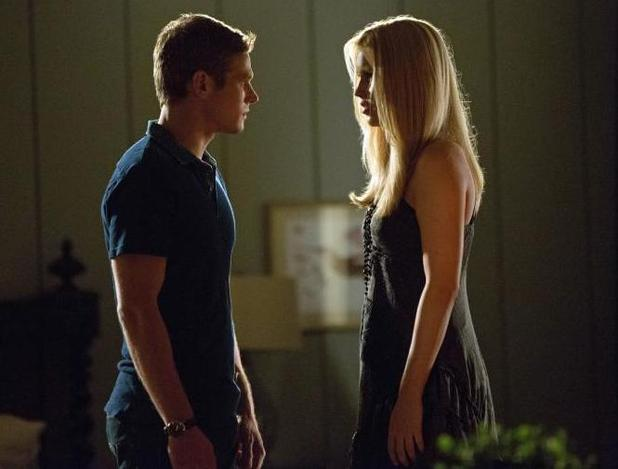 Vampire Diaries (Season 4, Episode 3) - 'The Rager' Zach Roerig as Matt and Claire Holt as Rebekah