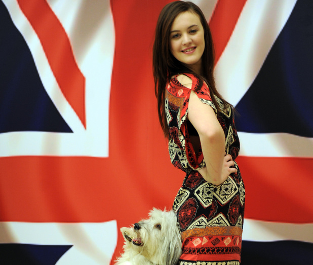 Ashleigh and Pudsey for The Crufts Factor