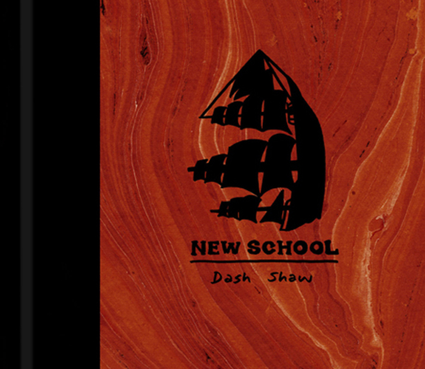 Dash Shaw title 'New School'