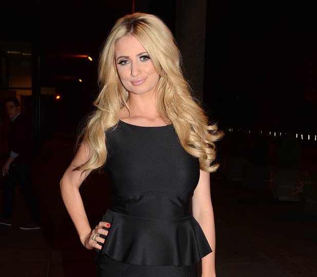 Chantelle Houghton arrives at the RTE Studios for &#39;The Saturday Night Show&#39;.