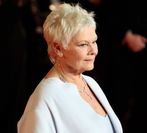Dame Judi Dench James Bond Skyfall World Premiere held at the Royal Albert Hall- Arrivals London, England